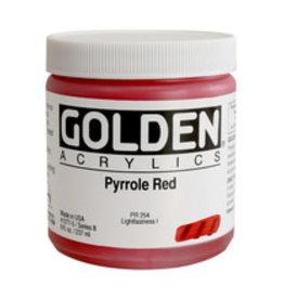 Golden Golden Matte Pyrrole Red 4 oz jar