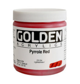 Golden Golden Pyrrole Red 4 oz jar