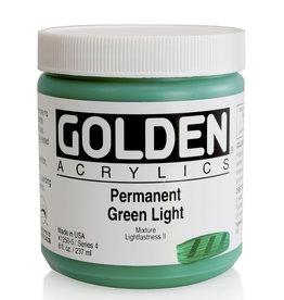 Golden Golden Heavy Body Permanent Green Light 8 oz jar