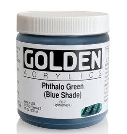 Golden Golden Heavy Body Phthalo Green /B.S. 8 oz jar