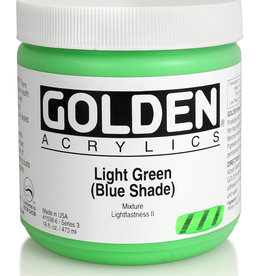 Golden Golden Heavy Body Light Green Blue Shade 16 oz jar