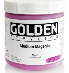 Golden Golden Heavy Body Medium Magenta 16 oz jar