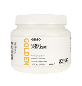 Golden Golden Gesso 32 oz jar