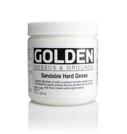 Golden Golden Sandable Hard Gesso 8 oz jar