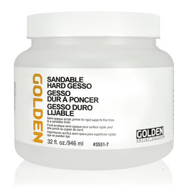 Golden Golden Sandable Hard Gesso 32 oz jar
