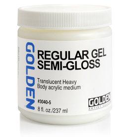 Golden Golden Regular Gel Semi-Gloss 8 oz jar
