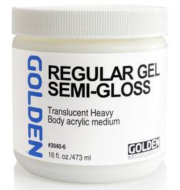 Golden Golden Regular Gel Semi-Gloss 16 oz jar