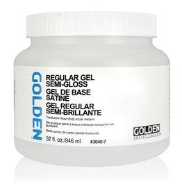 Golden Golden Regular Gel Semi-Gloss 32 oz jar