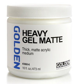Golden Golden Heavy Gel Matte 16 oz jar