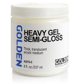 Golden Golden Heavy Gel Semi-Gloss 8 oz jar