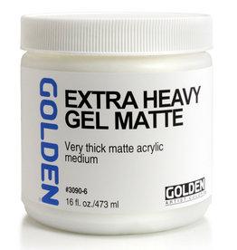 Golden Golden Extra Heavy Gel Matte 16 oz jar