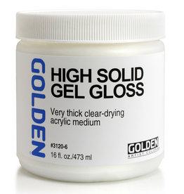 Golden Golden High Solid Gel Gloss 16 oz jar