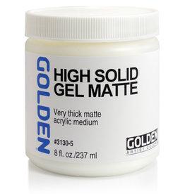 Golden Golden High Solid Gel Matte 8 oz jar