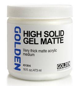 Golden Golden High Solid Gel Matte 16 oz jar