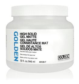 Golden Golden High Solid Gel Matte 32 oz jar
