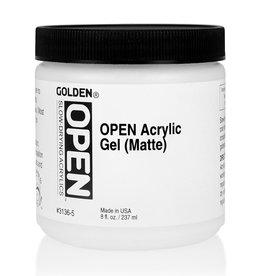 Golden Golden OPEN Acrylic Gel (Matte) 8 oz jar