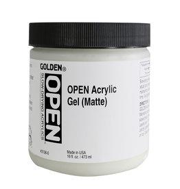 Golden Golden OPEN Acrylic Gel (Matte) 16 oz jar