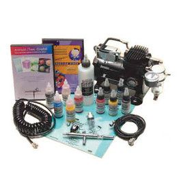 Medea Iwata-Medea Deluxe Airbrush Kit With Eclipse HP-CS