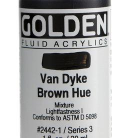 Golden Golden Fl. Hist. Van Dyke Brown Hue 1 oz cylinder
