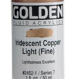 Golden Golden Fluid Iridescent Copper Lt.(fine 1 oz cylinder