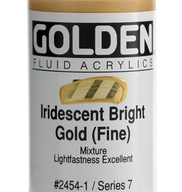 Golden Golden Fluid Iridescent Bright Gold (fi 1 oz cylinder