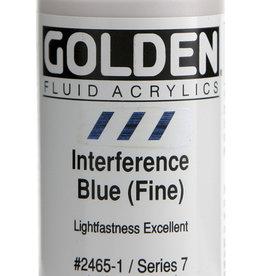 Golden Golden Fl. Interference Blue (fine) 1 oz cylinder