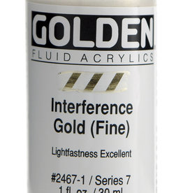 Golden Golden Fluid Interference Gold (fine) 1 oz cylinder