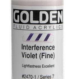 Golden Golden Fl. Interference Violet (fine) 1 oz cylinder