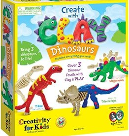 FABER-CASTELL Create With Clay Dinosaurs