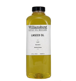 Golden Williamsburg Linseed Oil 32 oz cylinder