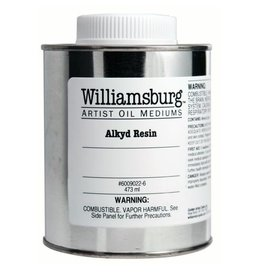 Golden Williamsburg Alkyd Resin 16 oz metal can