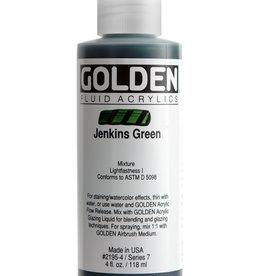 Golden Golden Fluid Jenkins Green 4 oz cylinder