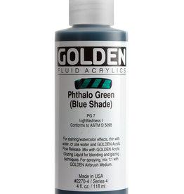 Golden Golden Fluid Phthalo Green /B.S. 4 oz cylinder