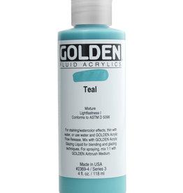 Golden Golden Fluid Teal 4 oz cylinder