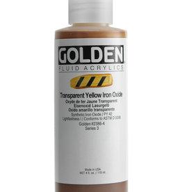 Golden Golden Fluid Trans. Yellow Iron Oxide 4 oz cylinder
