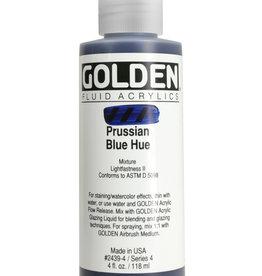Golden Golden Fluid Hist. Prussian Blue Hue 4 oz cylinder