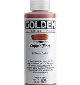 Golden Golden Fluid Iridescent Copper (fine) 4 oz cylinder