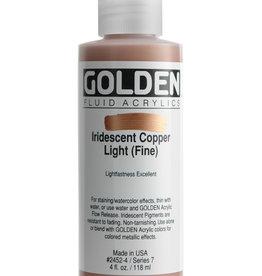 Golden Golden Fluid Iridescent Copper Lt.(fine 4 oz cylinder