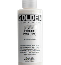 Golden Golden Fluid Iridescent Pearl (fine) 4 oz cylinder