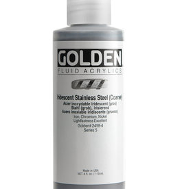 Golden Golden Fluid Irid. Stainless Steel (c) 4 oz cylinder