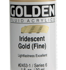 Golden Golden Fluid Iridescent Gold (fine) 1 oz cylinder