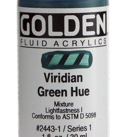 Golden Golden Fluid Hist. Viridian Green Hue 1 oz cylinder