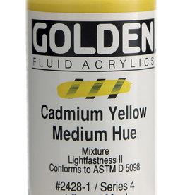 Golden Golden Fl. Cadmium Yellow Medium Hue 1 oz cylinder