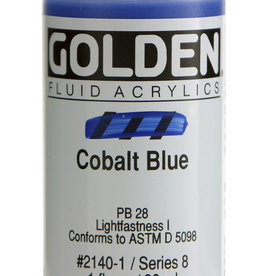 Golden Golden Fluid Cobalt Blue 1 oz cylinder