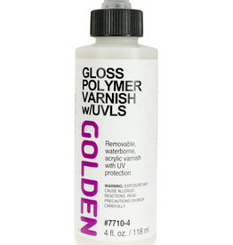 Golden Golden Acrylic Polymer Clear Sealing Polymer - 8 oz Bottle 4 oz cylinder