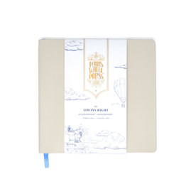 Ferris Wheel Press Always Right Notebook - Pebble Grey