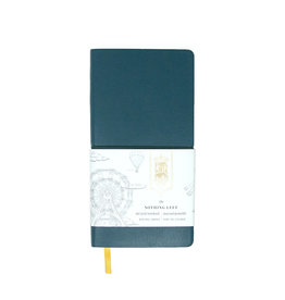 Ferris Wheel Press Nothing Left Notebook- Racing Green