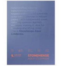 Legion Paper Legion Stonehenge Aqua Coldpress Block, 140lb 7x10