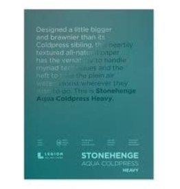 Legion Paper Legion Stonehenge Aqua Coldpress Block, Heavy 300lb 10x14