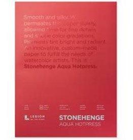 Legion Paper Legion Stonehenge Aqua Hotpress Block, 140lb 10x14